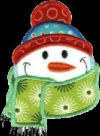 snowman frosty winter christmas freetoedit