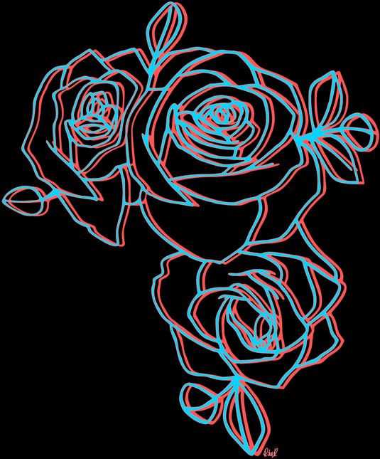 volví perras #roses #glitch #rosas #rosal #holga #tumblr #aesthetic