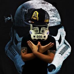 starwars stormtrooper thuglife freetoedit