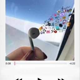 freetoedit music earbuds art artsy