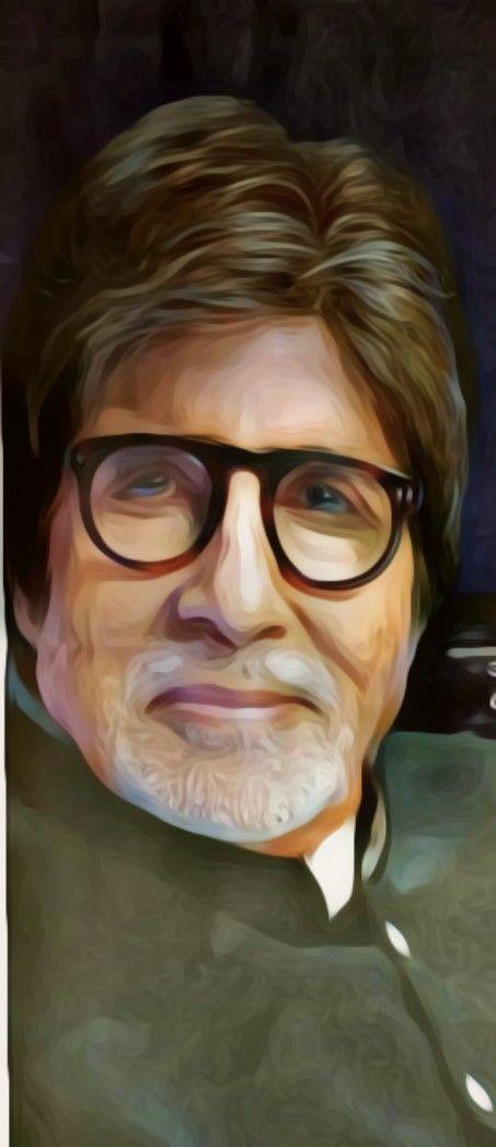 #oil painting @Amitabh Bacchan
