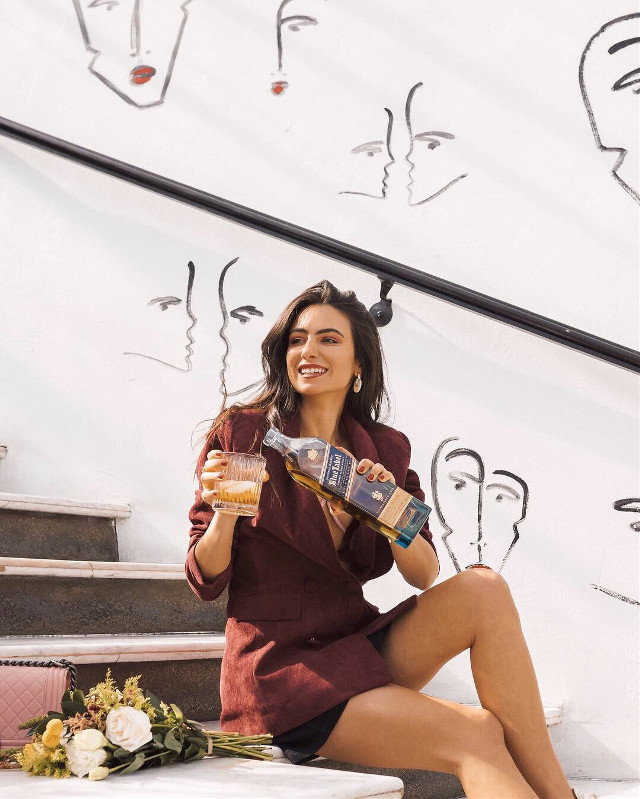 So excited to be a @JohnnieWalkerUS partner for the next 10 months! I'll be toasting to special moments and milestones in my life and marking them on the bottle as I go. You can follow along in my story highlights marked #BlueLabelMoments. <3  #JohnnieWalkerPartner #BlueLabelMoment #MarkYourMoment #BlueLabel #JohnnieWalker #drink #party #freetoedit #girl #model #alcohol #happy #smile #california #photography #blogger #influencer #picsartvip #food
