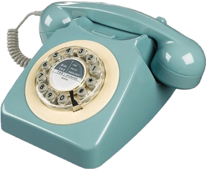phone vintage blue dial aesthetic