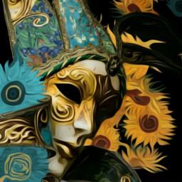 freetoedit harlequin vincentvangogh vangogh sunflowers srcfineartfriday