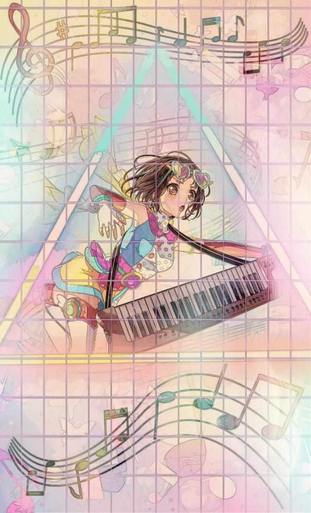 #freetoedit #keyboardist #bandori #bandoriedit #bangdream #bangdreamgirlsbandparty #rainbow #music #tsugumi #tsugumihazawa #hazawa
