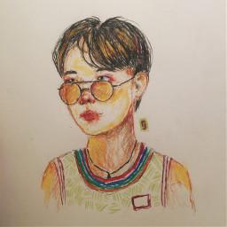 drawing bts hoseok hobi junghoseok