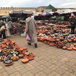 market townsquare meknes morocco travel pcshoppingtime