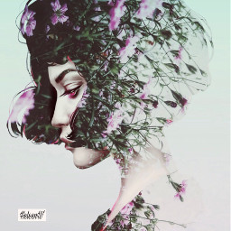 lady doubleexposure colored surreal madewithpicsart picsarteffects picsarttools softcolors myedit mystyle myart freetoedit