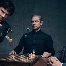 greatpic greatpeople sherlockholmes chessbattle awesome