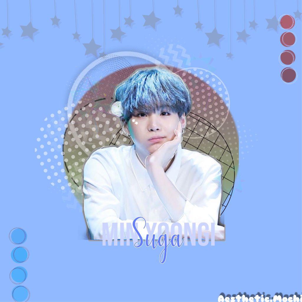 #Red&BlueKpopContest                             |:Edit : Suga 🌙 :|