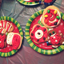 pcsweets sweets christmascookies decorative