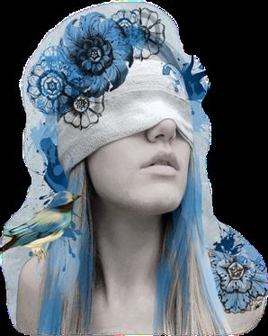 #femme #blue