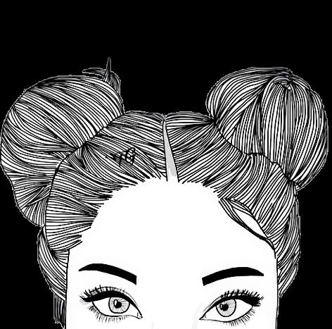 #menina #coque #sobrancelhas #olhos #tumblr #guria #moça