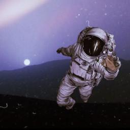 ircmarssunset marssunset freetoedit space atronaut