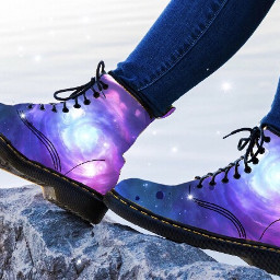galaxyboots galaxy boots freetoedit winter