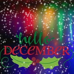 freetoedit ftestickers december hellodecember