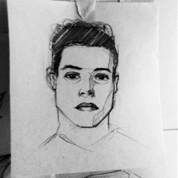 drawing art ramimalek freetoedit