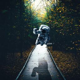 eclevitation levitation levitate astronaut fall