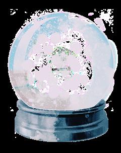 snowglobe globe snow snowglobes winter freetoedit