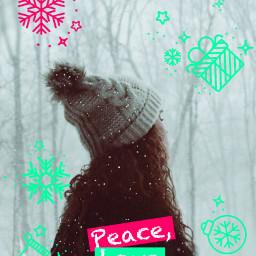 freetoedit winter christmas holidays snow