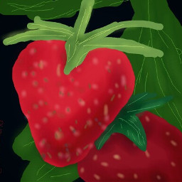 dcfruits fruits strawberry mydrawing drawingmena