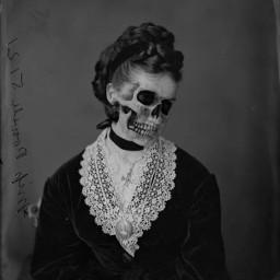 freetoedit horrorart skullart darkart gothic