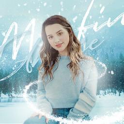 winter snow annie white blue
