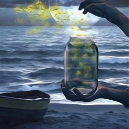 ircmagicjar magicjar freetoedit jar painting