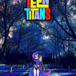 freetoedit teentitans raven beastboy ravenxbeastboy dc dccomics dcuniverse