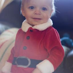 pcface face christmas baby hohoho
