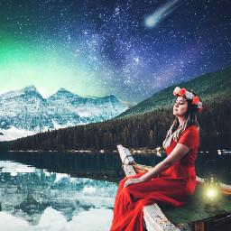 ircwinterscape winterscape freetoedit winterscenes woman