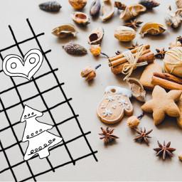christmas bakery gingerbreadman gingerbreadcookies doodle