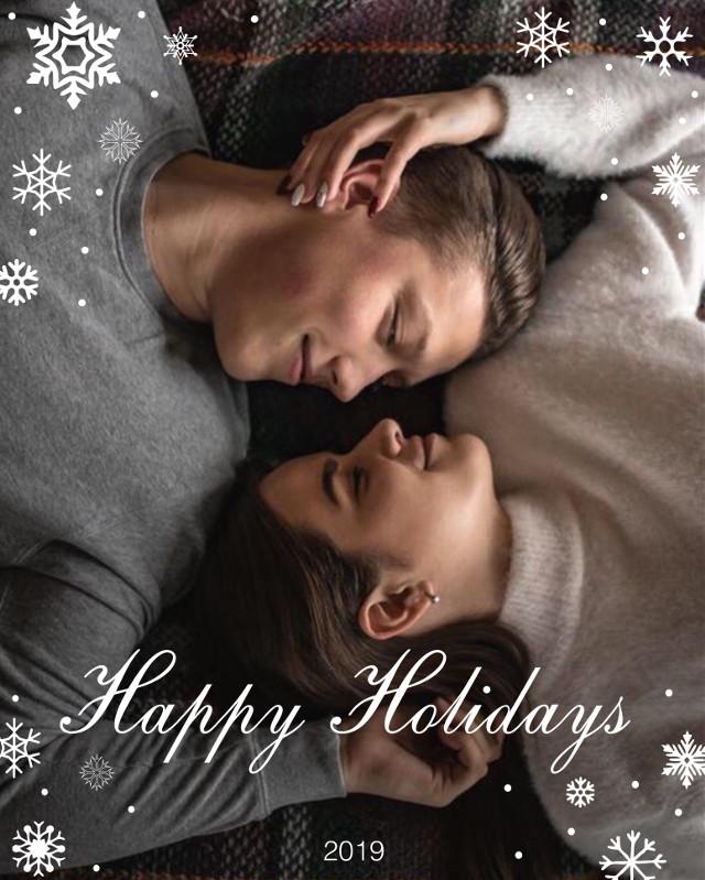 #freetoedit #christmas #christmas2018 #couple #love #holidays #winter