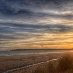 interesting sunset beach beautiful babe