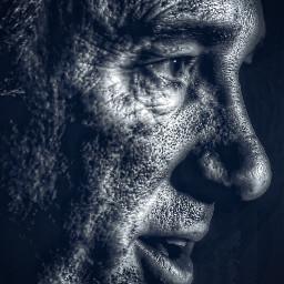 portrait male age interesting hdr freetoedit