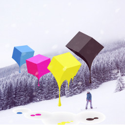 freetoedit cubes snow free winter