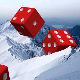 freetoedit cubes newlife mountains red