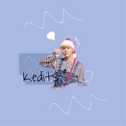 kuri_btscrystalsnowchallenge jimin bts kpop christmas freetoedit