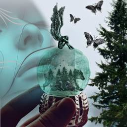 freetoedit girl thinking worried edit ircsnowglobe