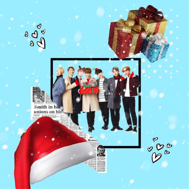 #bts #btsedits #edits #jungkook #taehyung #namjoon #seokjin #jimin #hoseok #yoongi #rm #jin #jhope #suga #v #christmas #snowflakes #christmasedit  #freetoedit