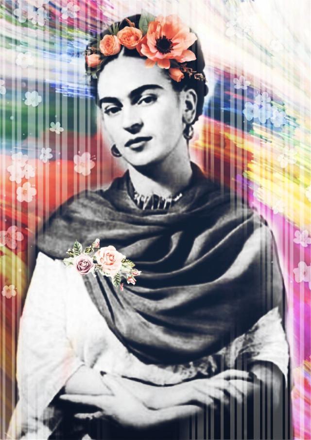 #freetoedit #fridakahlo #frida #kahlo #remixed #painter