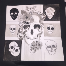 art fineart finearts skeleton skeletons freetoedit