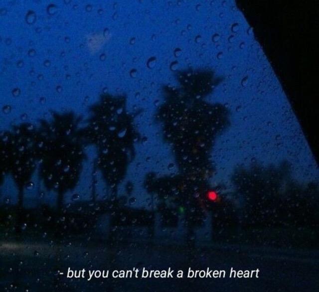 b r o k e n broken sad quotes sad aesthetic