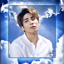jonghyun shinee youdidwelljonghyun rip angel freetoedit