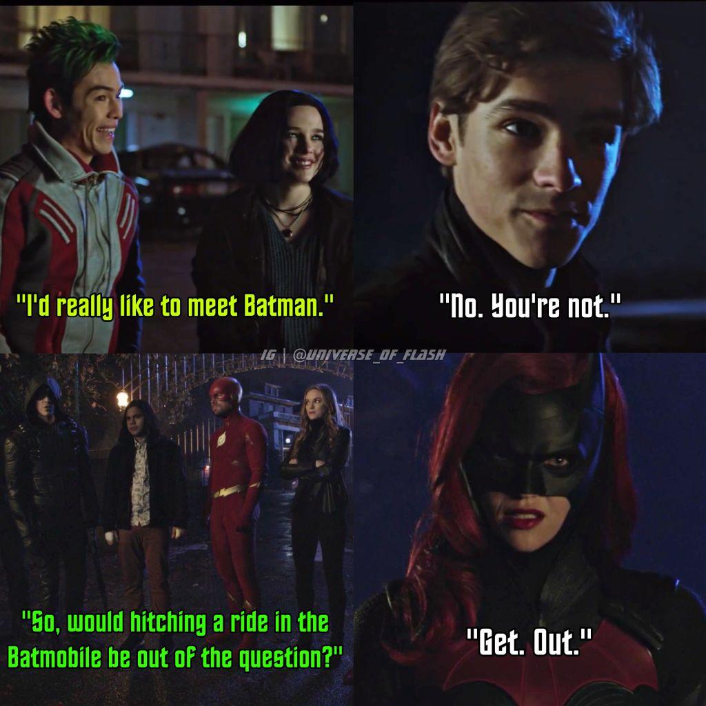 Gar & Barry, Batman Fanboys 😂😏🦇 elseworlds crossover