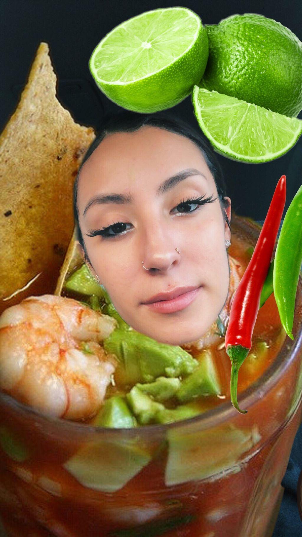 #freetoedit #shrimpcocktail #lime #frida #fridax #fridaxitlalhic #avacado #chips #mexican #eyelashes #chile #hotsauce #cilantro #onion #eyebrowsonfleek #shrimp