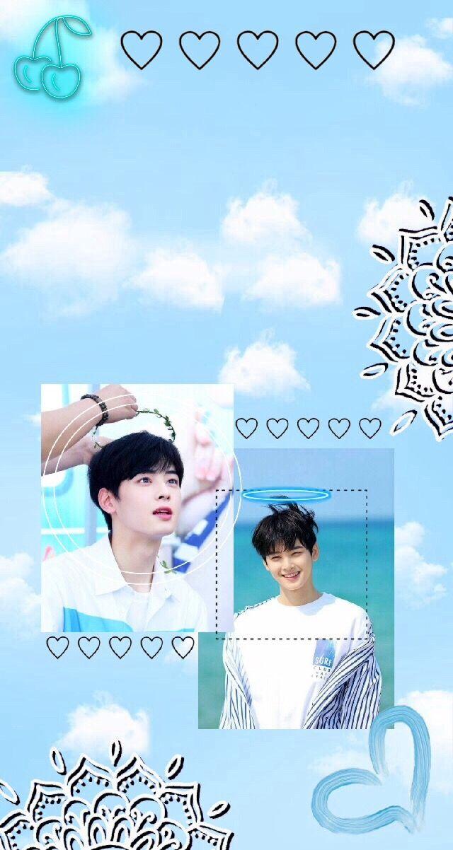 Freetoedit Kpop Astro Chaeunwoo Wallpaper