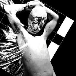 blackandwhite sculpture photography abstract art