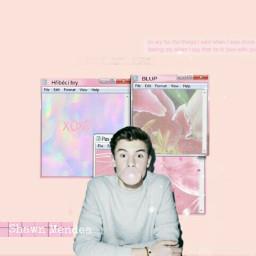 shawnmendes pinktheme pink freetoedit