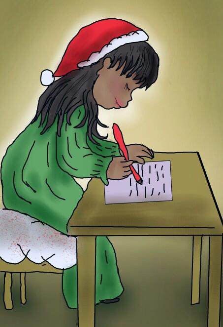 #dcsantawishlist #santawishlist #thankyou  #5thplace  #drawingmena